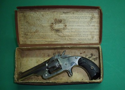 SMITH et WESSON N°1 1/2 S.A.