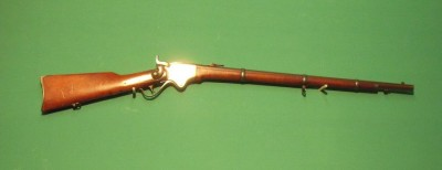 Fusil SPENCER 1868 Marine.