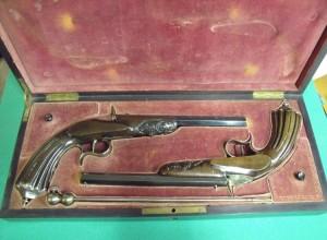 Paire de pistolets Flobert
