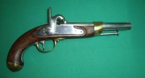 Pistolet 1822 T de Marine