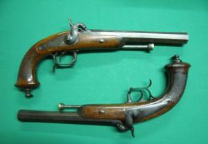 Pistolets d'officier 1833