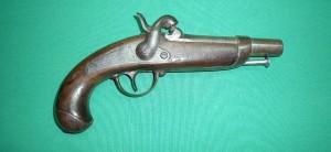 Pistolet Gendarmerie 1842