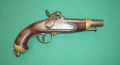 Pistolet gendarmerie 1822T, Belge