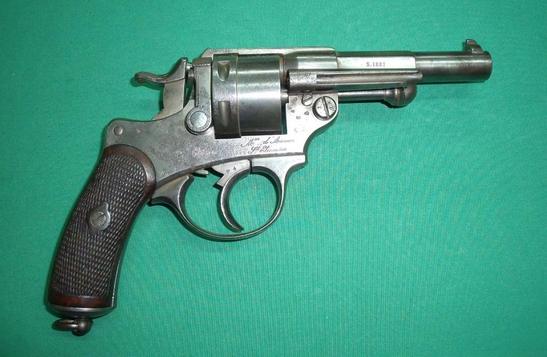 Revolver 1873 - La manufacture saint etienne ...